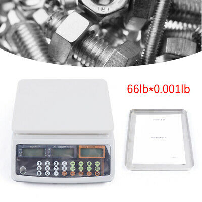 300g x 0.001g Digital Lab Analytical Balance Scale Jewelry Precision Weighing