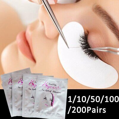 Eye Pads Eyelash Gel Patch Lint Free Lashes Extension Mask Eyepads Beauty Tool