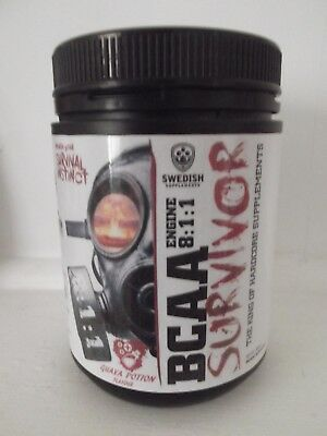 SWEDISH SUPPLEMENTS BCAA SURVIVOR 8:1:1  Guava Potion Flavour 300g