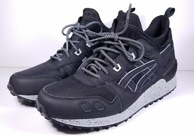 reputable site 25ca1 26122 ASICS SIZE 10 Sneaker Boot Gel-Lyte MT Black/Grey Reflective H6K1L-9090 Mens