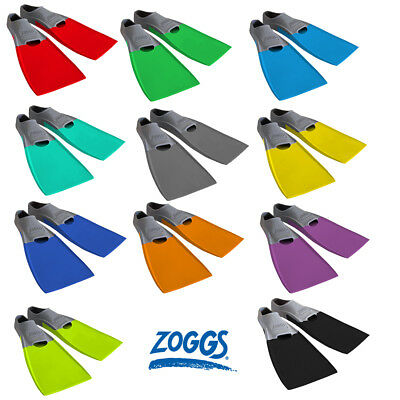 Long Blade Swim Fins Fin Swimming Training Flipper Pool Training Flippers ZOGGS