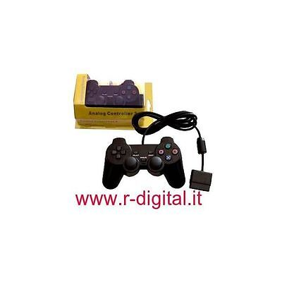 Game Pad Ps2 Joystick Controller Vibration Dual Shock Cable Playstation 2