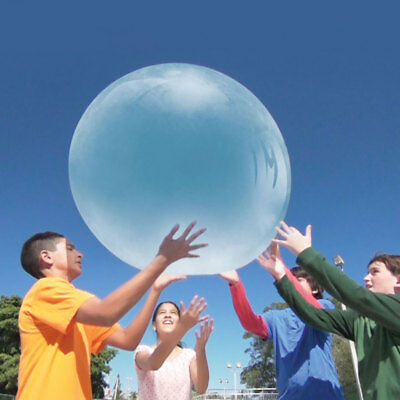 Wubble Bubble Ball Game with Pump - Looks like a Bubble Plays like a Ball