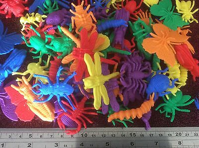 Bugs & Insects Counters - Sorting, Pretend Play, Colours, Games, Maths