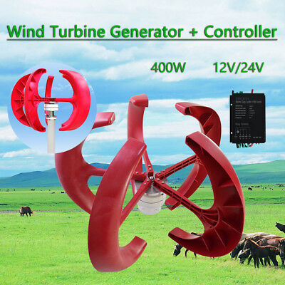 12V/24V RED Edition WINDGENERATOR,WIND TURBINE WINDKRAFT & CONTROLLER
