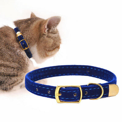 Cat Kitten Small Dogs Puppy Flocking Adjustable Collar Pet Supplies Accessories