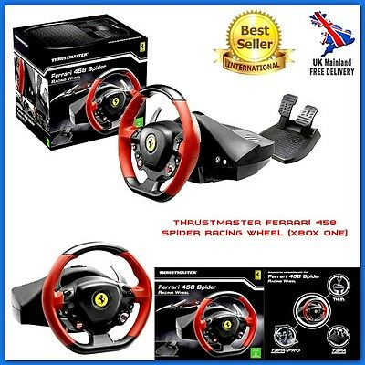 Xbox One Steering Wheel Racing Pedal Set Controls Gaming Equipment Paddle Shift