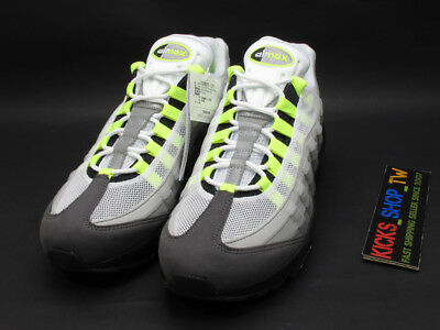 cheap for discount 3008b f532c 2018 RETRO JAPAN Release Only Nike Air Max 95 Og Neon Black Volt Day  554970-071
