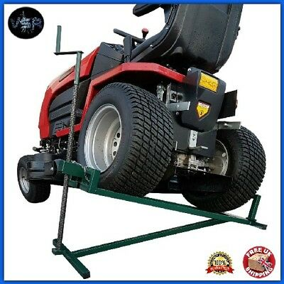 Tractor Jack Lifter Ride On Lawn Mower Lifting Device Ramp Garden Lift Tool Mec