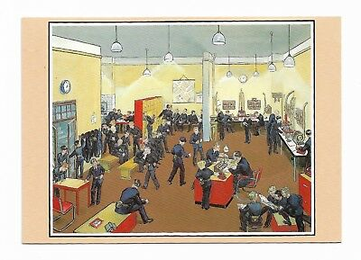 LONDON TELEGRAM MESSENGERS DESPATCH ROOM Grace Golden PO Archives Postcard 970D
