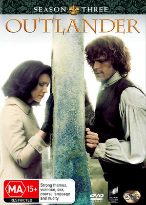 Outlander: Season 3  - DVD - NEW Region 4