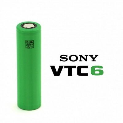 Authentique Batterie, Accu 18650 SONY VTC6 3000mAh 30A VTC +1 boite de transport
