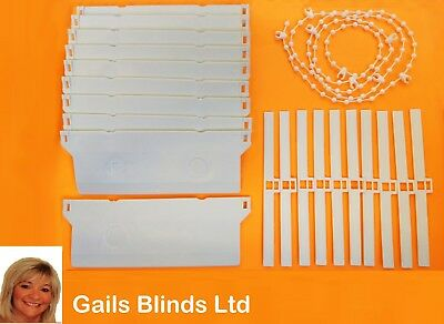 "REPLACEMENT 5"" (127mm) VERTICAL BLIND BOTTOM WEIGHTS REPAIR KIT SPARE PARTS"
