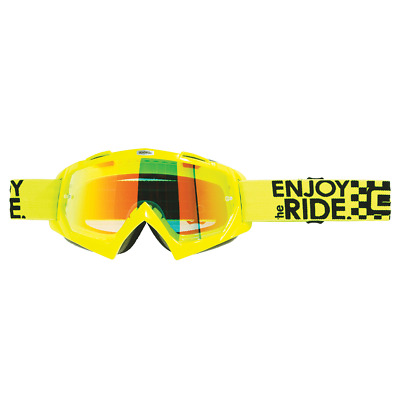 Oneal B-Flex Goggle LAUNCH fluo yellow clear