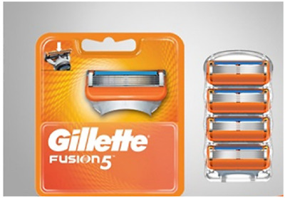 Gillette Fusion Men Shaving Razor / Blades Long lasting (Choose From Drop Down)