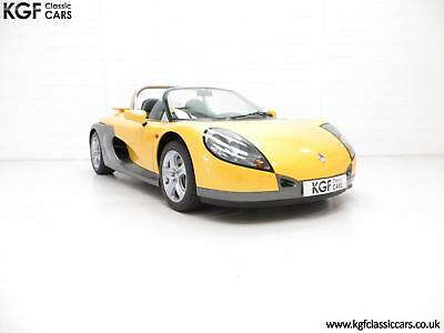 One of 100 UK RHD Renault Sport Spiders with Just 3,608 Miles