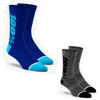 100% Rythym Merino Wool Performance Motorcycle Socks