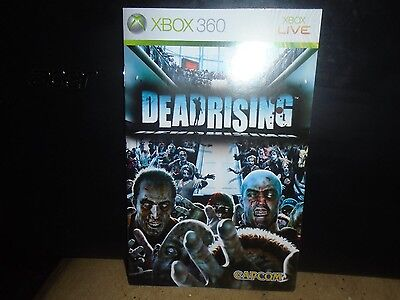 Manual For Xbox 360 Dead Rising , No Game, Just Manual !!!!