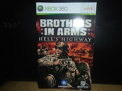 Manual For Xbox 360 Brothers In Arms Highway To Hell, No Game, Just Manual!!!!!,