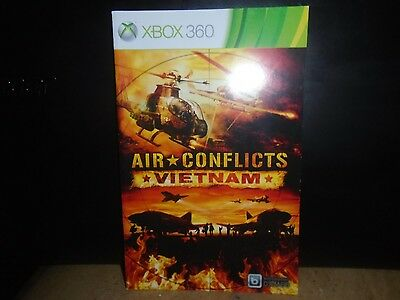 Manual For Xbox360 Air Conflicts Vietnam,  No Game !   Just Manual !!!!