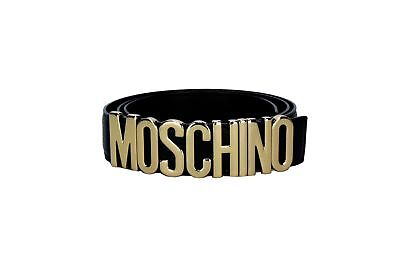 MOSCHINO Couture!  Z1A8006 Cintura Uomo Men's Belt W8.LM08