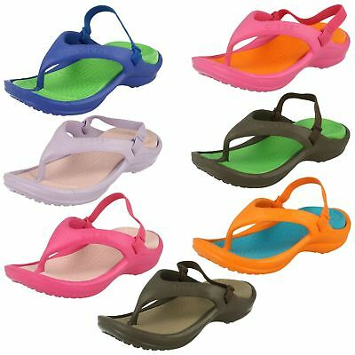 Childrens Unisex Crocs Athens Strap Toe Post Sandals