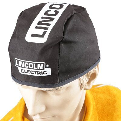 Lincoln Electric Black Large Flame-Resistant Welding Beanie, Hat Size 7 to 7-3/8
