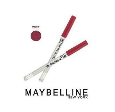 MAYBELLINE Color Sensational Perfilador de Labios Delineador Color Vino Wine