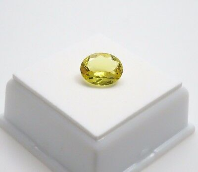 Madagascar Canary Apatite - 2.90ct - 11x9mm - Oval - Apatite Loose Gemstone