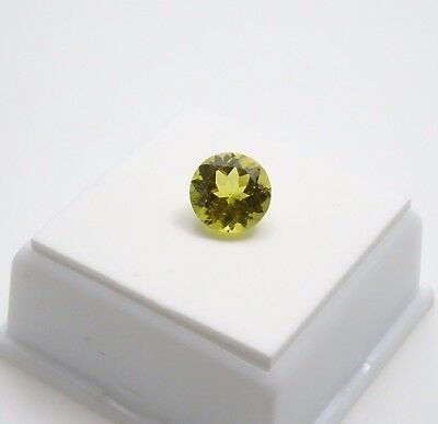 Madagascar Canary Apatite - 3.10ct - 9mm - Round - Apatite Loose Gemstone