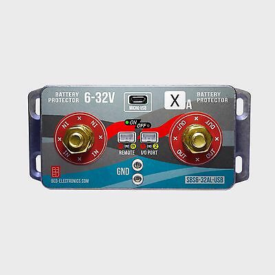 Universal battery protector with USB 6-32V 40-240A