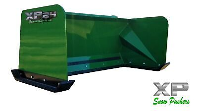 5' Low Pro John Deere snow pusher box LOCAL PICK UP tractor loader snow plow