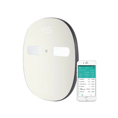 Digoo DG-SO38H 180Kg Smart LED Bluetooth Large Body Fat Scale Composition Monito