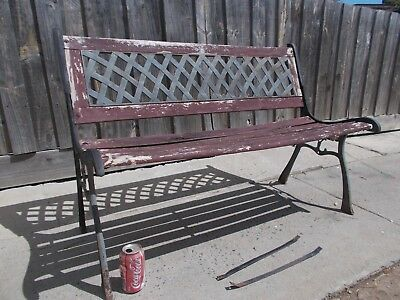 Cast Iron Garden Seat Bench Seat Garden Bench(Project)