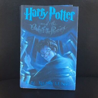 Harry Potter & the Order of the Phoenix 1st American Edition Hardcover, Rowling