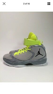 timeless design f5aa8 6eb55 Nike Air Jordan 2012 Deluxe Wolf Grey-Black-Silver Ice-Wht Sz 9