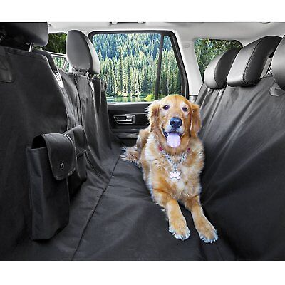 XL Waterproof Hammock Pet Back Seat Cover For Car Pick Up Truck Large Dog NEW