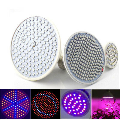 LED Plant Bulbs Plant Lamp Grow Light Flower Vegetable Growth Indoor Greenhouse