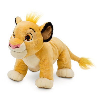 "Disney Store SIMBA PLUSH The Lion King 11"" H"