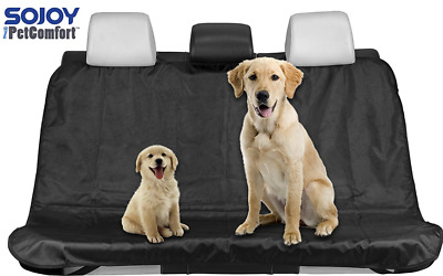 Black Waterproof Pet Dog Cat Seat Cover Car Seat Cover For Cars Trucks and SUVs