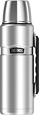 Thermos Stainless King 40 Ounce Beverage Bottle, Stainless Steel 40 Oz. capacity