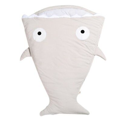 Shark Type Multifunctional Newborn Infant Baby Kids Anti Kick Sleeping Bag