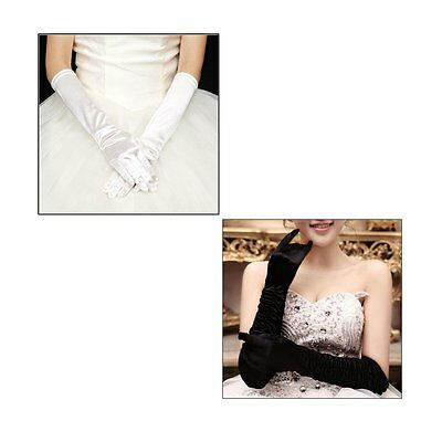 Sexy Women Long Cotton Blending Night Club Gloves Long Prom Hand Warmer Gloves T