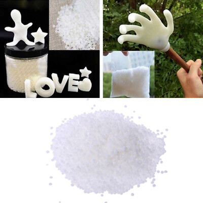 Mouldable Plastic Pellets Creative Environmental Protection White Xmas Kids Toy