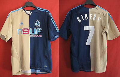 Adidas Jersey New Telecom RIBERY Vintage Marseille OM - 16 years old