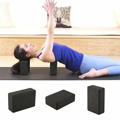 2Pcs Pilates Yoga Block Foaming Foam Brick Exercise Fitness Stretching Aid OZ