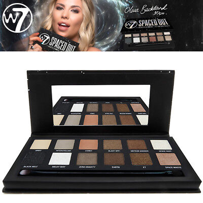 W7 Makeup Spaced Out 12 Galactic Glimmers On Trend Eye Colour Eyeshadow Palette
