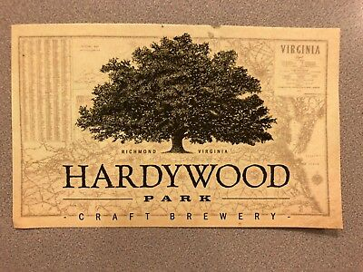 Hardywood Park Craft Brewery Sticker Craft Beer Craft Brewing RVA IPA Ale Lager