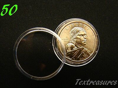 China 1//4 oz Panda-Sterling 25 Direct Fit 26mm Coin Capsule For Euro Two Euro
