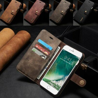 Luxury Magnetic Leather Removable Wallet Card Case Cover F iPhone6s/7/8 Plus F7
